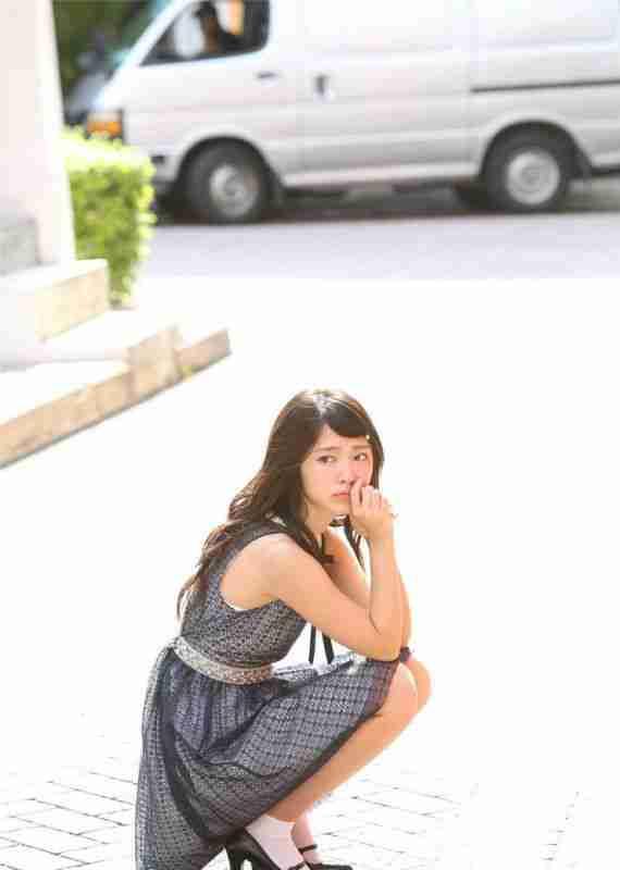 国民美少女长裙清纯高清写真