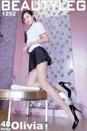 Beautyleg美腿女神Olivia水手服白丝写真