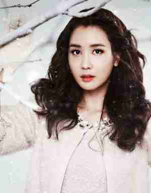 韩国气质美女李多海冬日里唯美写真
