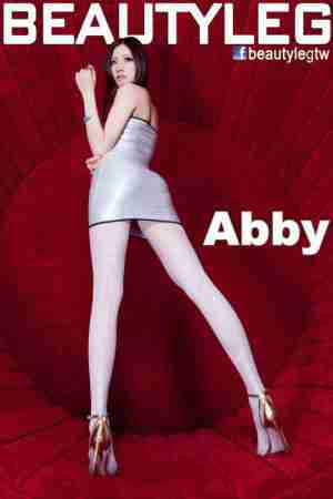 BeautyLeg腿模Abby超短裙白丝