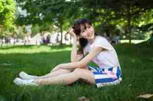 潘之琳青春气息校园写真
