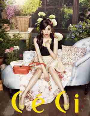 少女时代黄美英青春甜美时尚写真