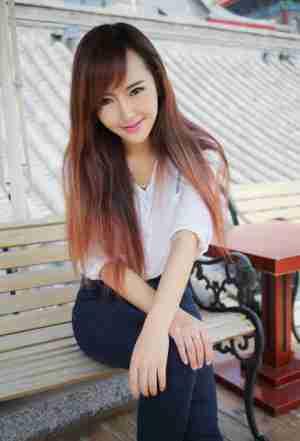 优星馆赵婉妮甜美笑容气质写真