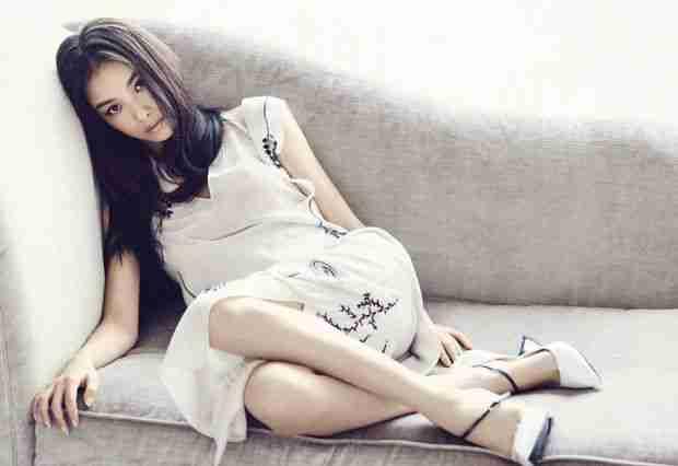 倪妮时尚杂志尽显女人妖娆写真