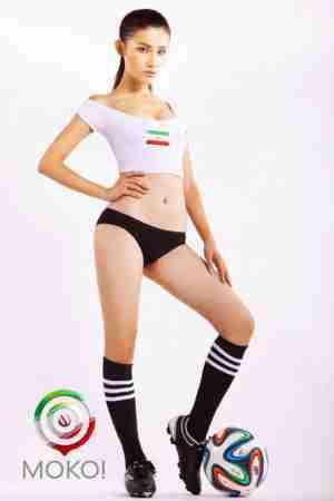 Moko世界杯足球宝贝体育美女