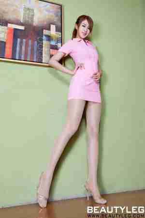 BeautyLeg腿模Miso肉丝玉足