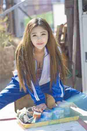 小学妹校服写真 95后美女校花美胸照片 美女桌面写真集