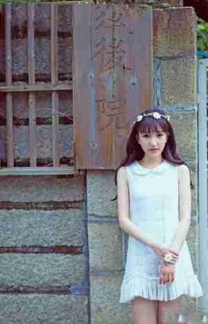 青春美女街拍写真