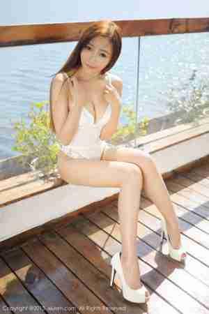 人体模特王馨瑶yanni 连体内衣甜美写真