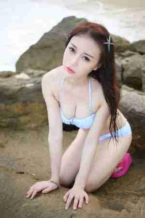 性感mm赵小米kitty三亚旅拍第一套大尺度艺术人体写真
