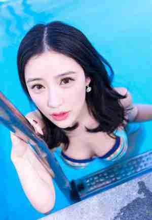 推女神性感泳装美女施忆佳KITTY大胆写真