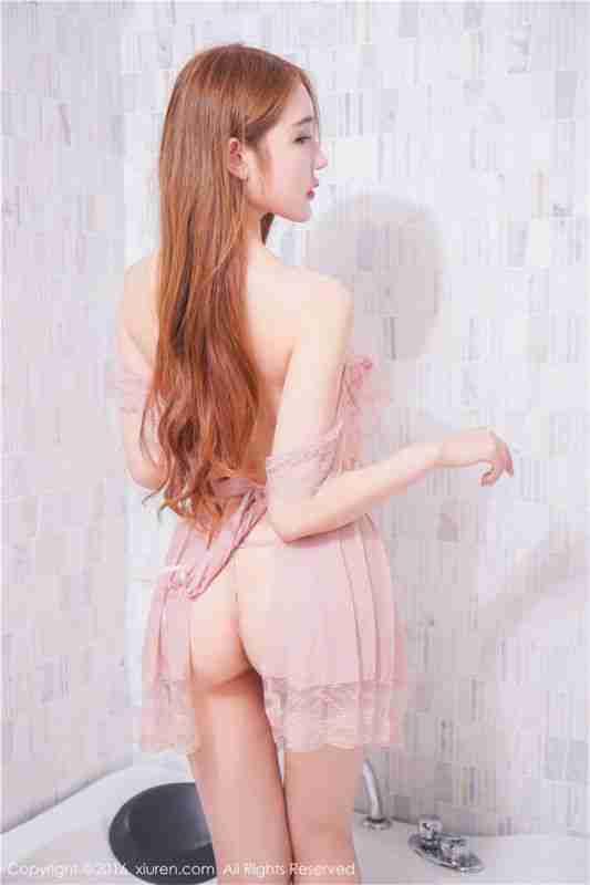 [秀人网]性感美女冷月yuer浴缸透视装写真图片