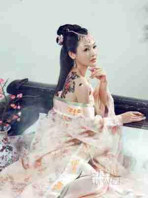 甜美古典公主 娇羞可人