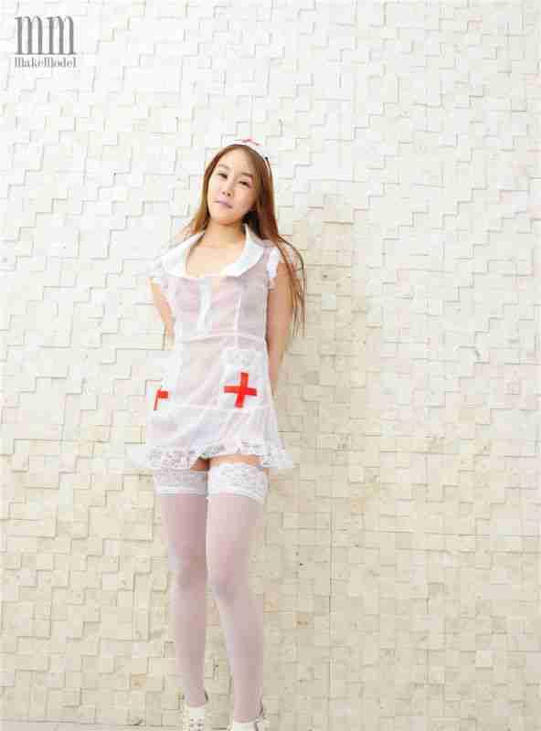 护士装美女套图