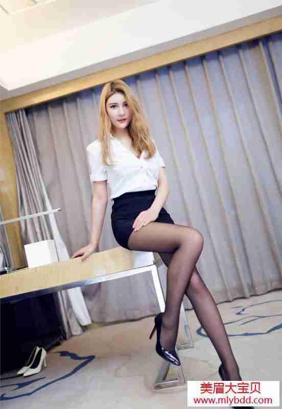 办公室女神完美丝腿。