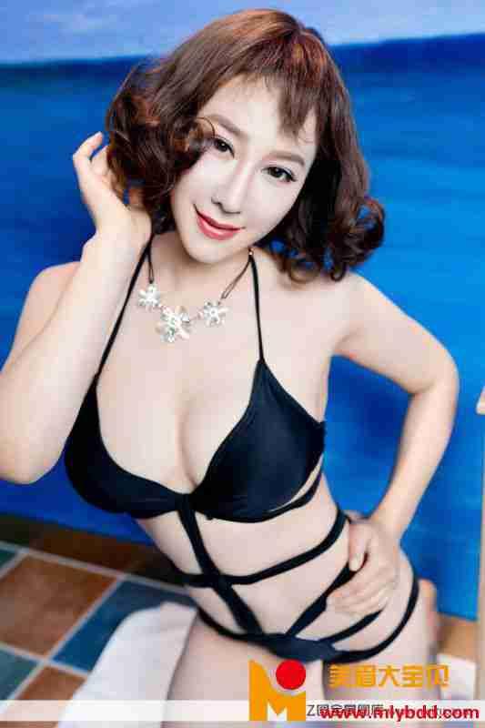 混血美女模特安娜金御女郎波涛胸涌内衣性感写真