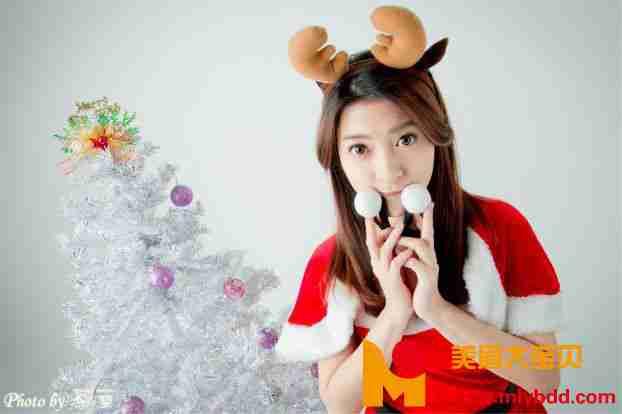 李思娴 - 卖萌圣诞装套图