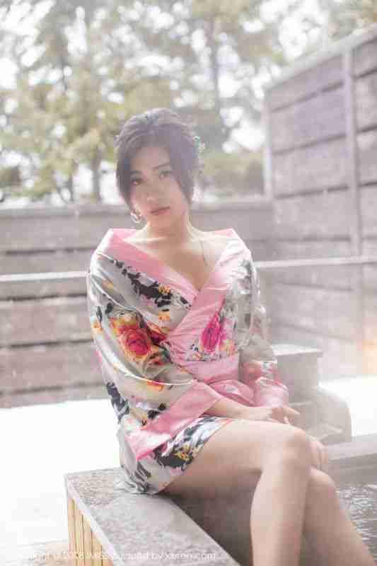 女神@许诺Sabrina北海道旅拍第二套写真