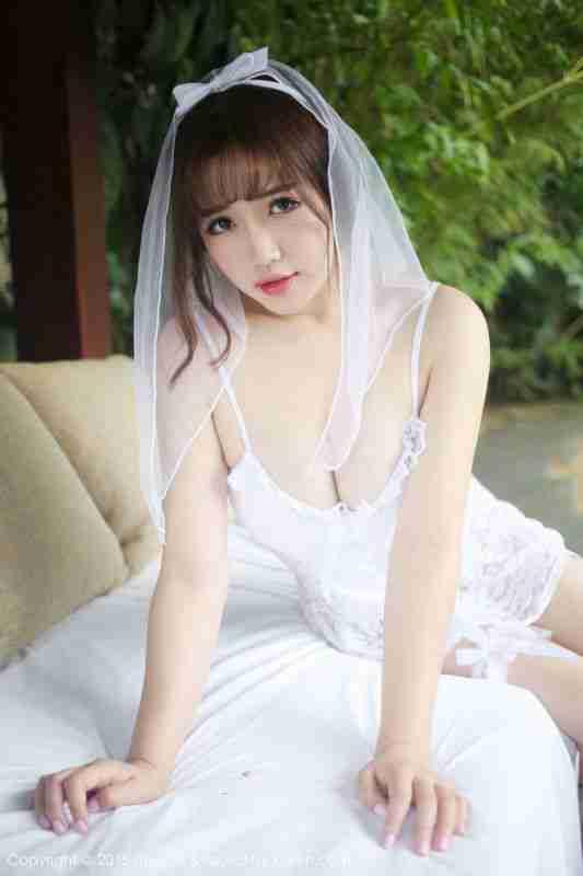 徐cake - 白色婚纱系列写真套图