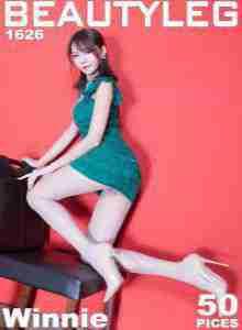 Winnie小雪 - 优雅旗袍+黑丝套裙美腿写真套图
