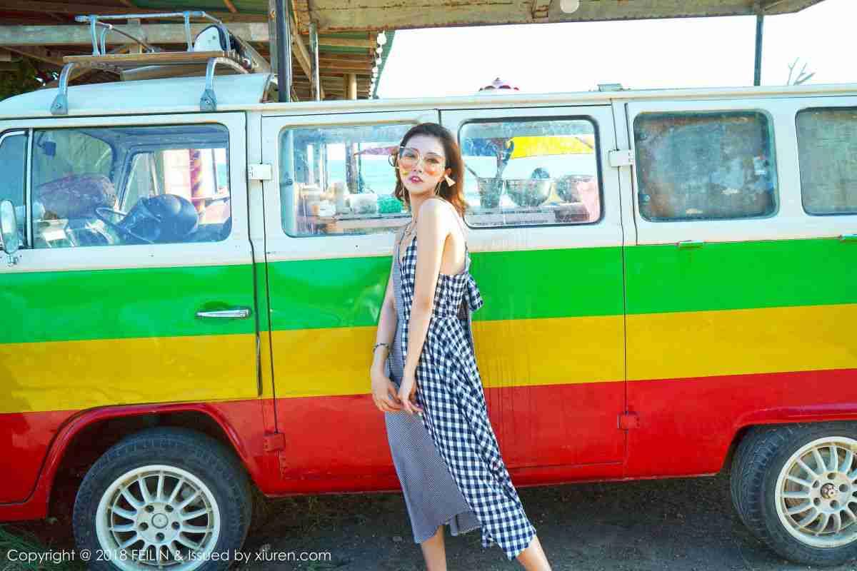 嗲囡囡模特@冯木木LRIS菲律宾的班塔延岛旅拍写真