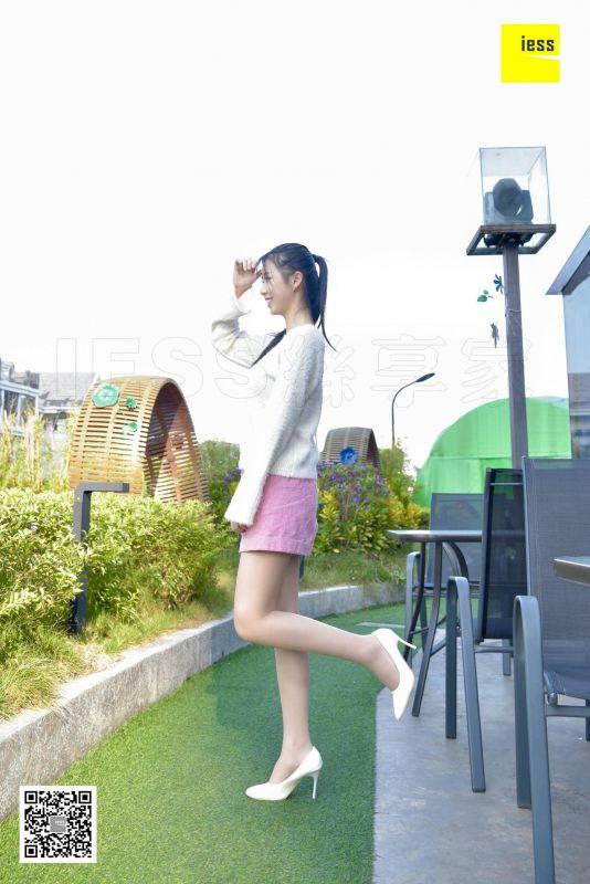 佳桢 - 清新粉色短裙肉丝