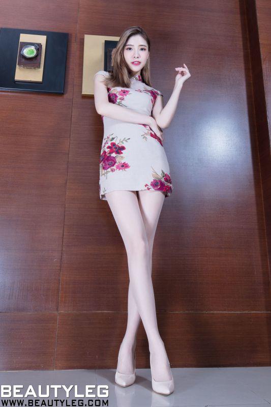 陈玉雪Abby - 旗袍美腿+OL高跟套图