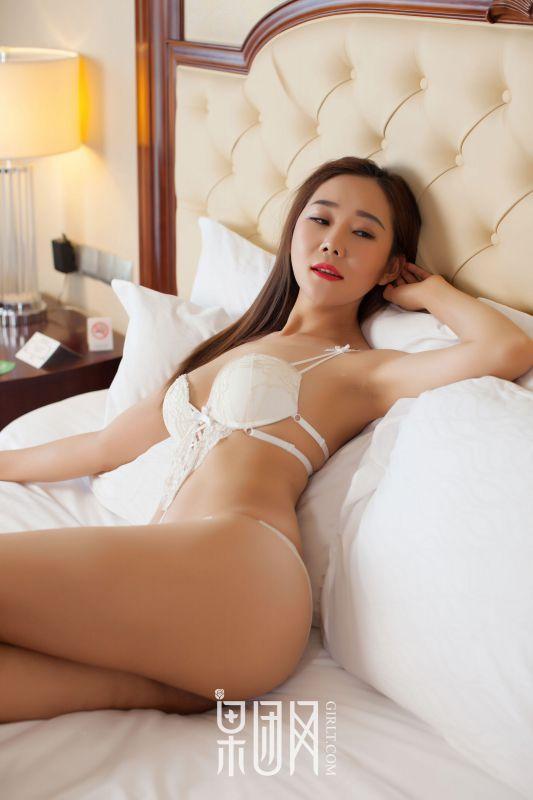 棉花糖White - 白色连体内衣