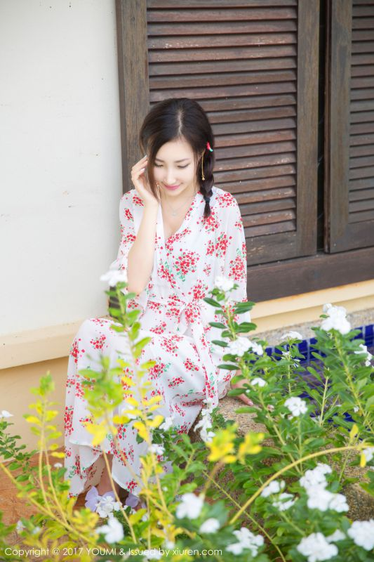 Yumi-尤美 - 伫立在海边的唯美仙子 诱人写真图片