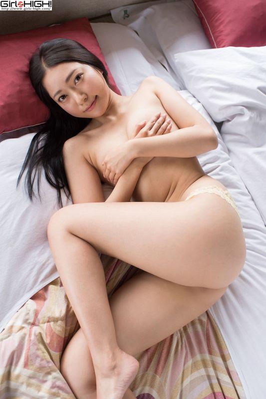 三田羽衣 - 白衬衫+丁字裤诱惑 写真套图