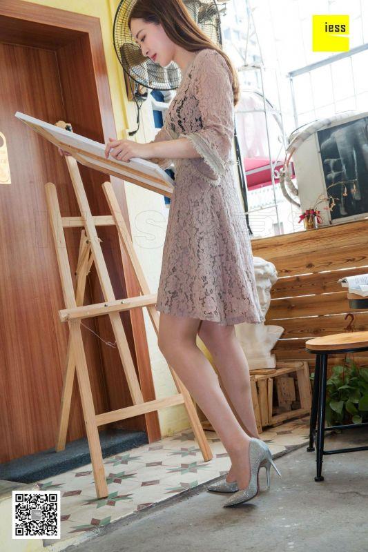 紫紫《穿肉丝画画的美术生》