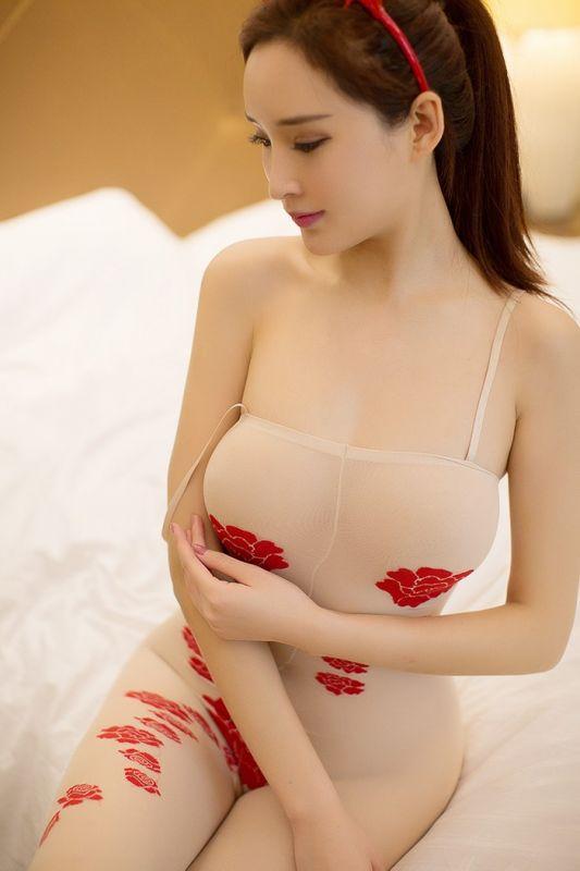 美艳娇娘周妍希连体情趣内衣美腿诱人[49P]