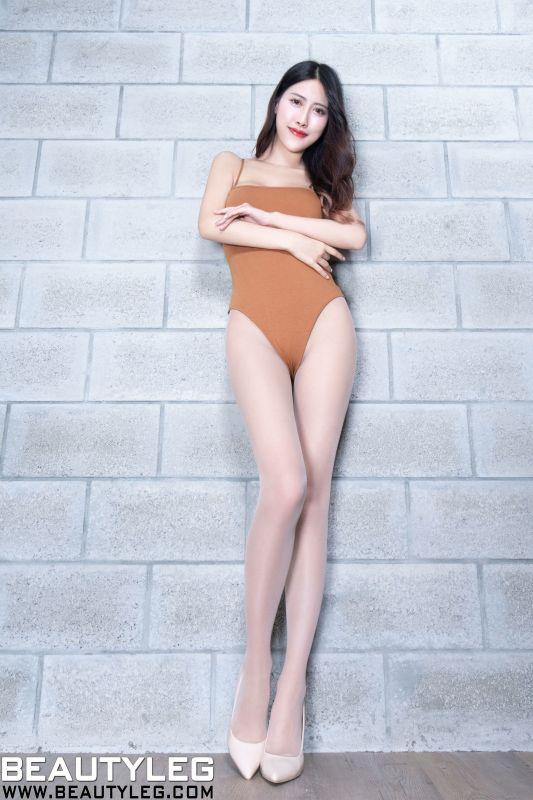 腿模Amber  美腿写真套图
