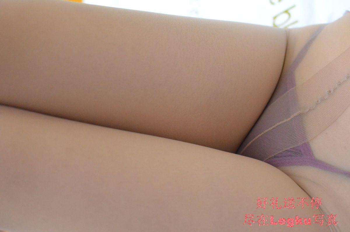 情趣护士服+咖啡色丝袜 写真套图