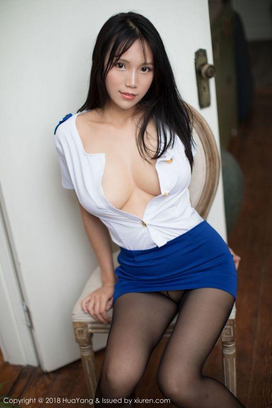 女神@李可可 - 黑丝制服OL写真
