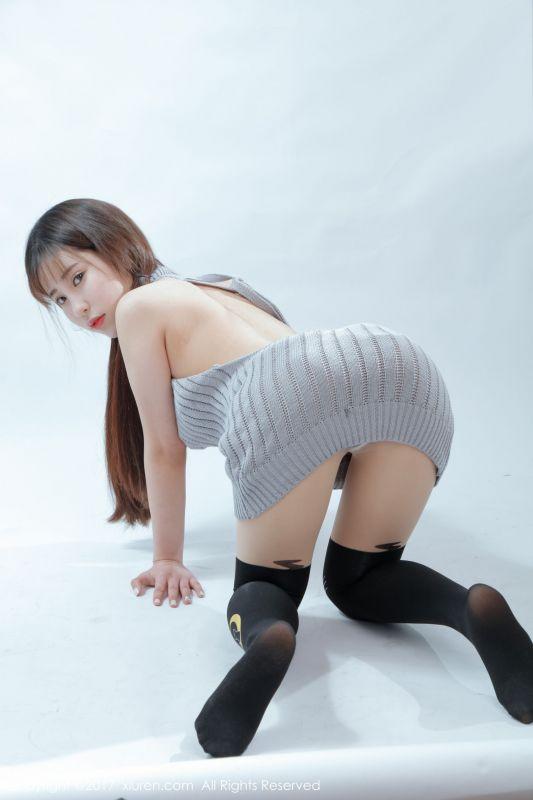 萝莉悠悠酱 - 肌肤雪乳美臀福利 写真套图2
