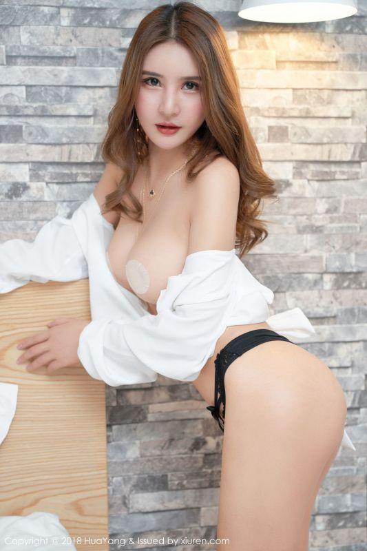 女神@SOLO-尹菲白衬衫私房写真2