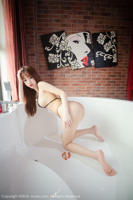 龙泽美曦 - 性感三点式内衣写真02
