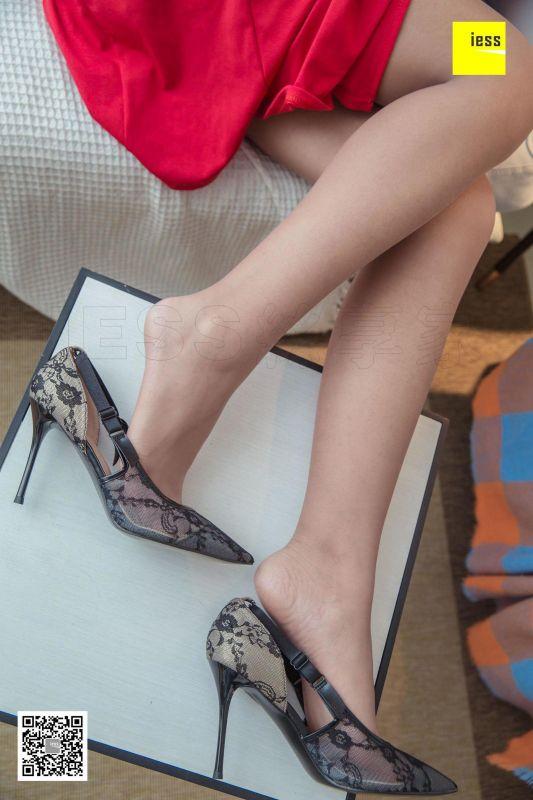 DJ《侧空长裙蕾丝鞋》