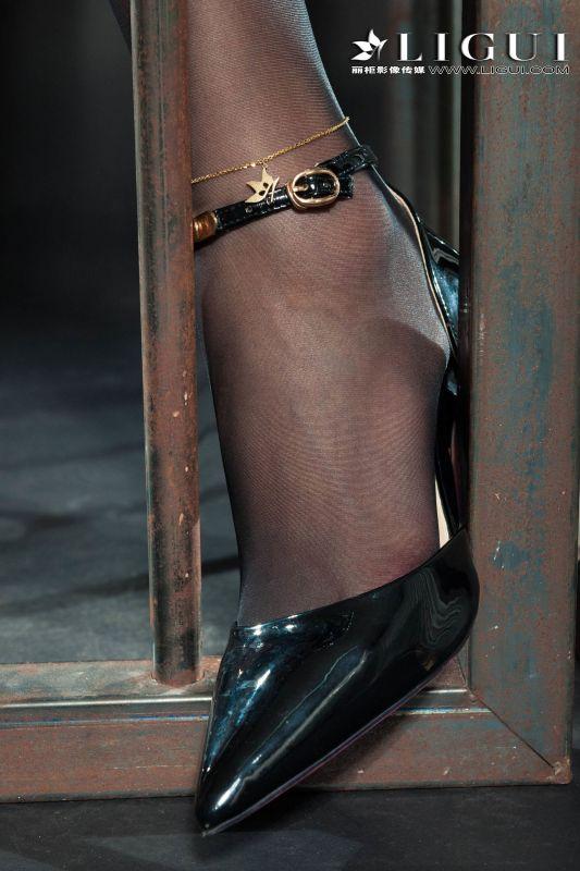 Model 敏儿 - 黑丝女警系列