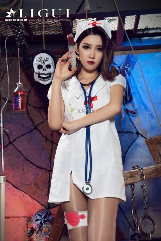 Model 筱筱 - 情趣护士丝足诱惑 写真套图