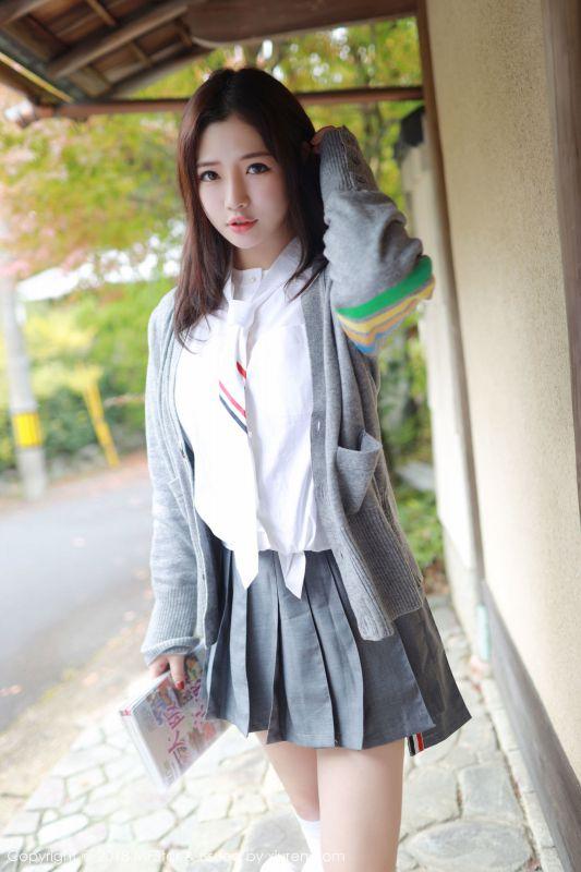 女神@徐cake日本旅拍第一套写真