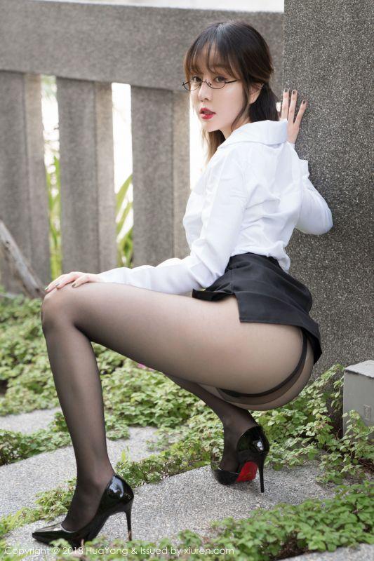 王雨纯 - 普吉岛旅拍黑丝OL写真