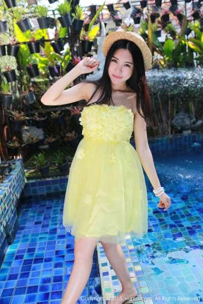 绮里嘉ula-泰国清迈写真第一套图