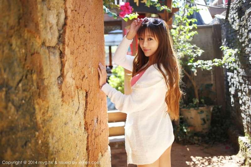 美女王馨瑶yanni-丽江旅拍第一套写真