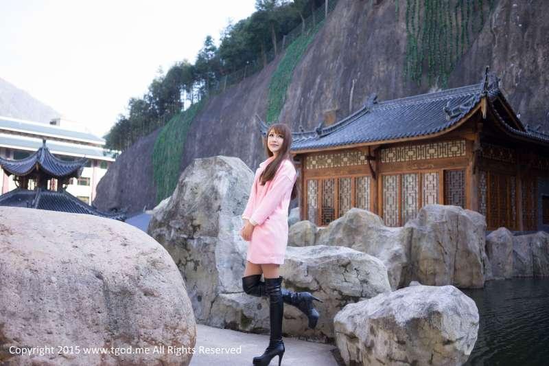清纯可爱Akiki朱若慕-《女神驾到》之武义牛头山温泉