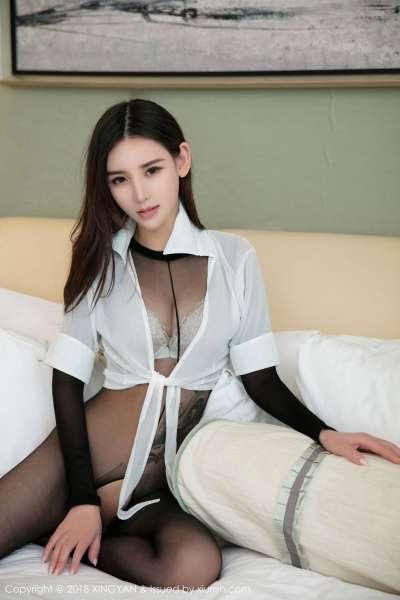 翘臀~丽质模特@韩雨嘉第三套 写真套图