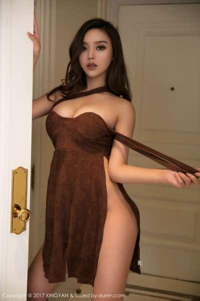 翘臀新人模特@白露Lucy首套写真