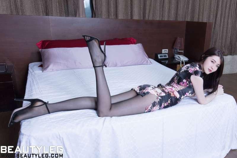 腿模Brindy - 黑丝旗袍+套裙+女仆