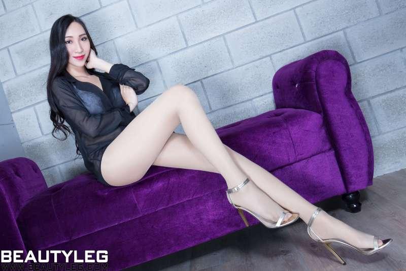 腿模Miki - 肉丝袜高跟美腿~